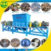 Doppia trinciatrice dell'asta cilindrica per il timpano di plastica residuo/il piatto/sacchetto di plastica