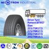 Neumático largo barato 245/70r19.5 del carro del mecanismo impulsor del kilometraje de China TBR