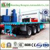 Dell'Tri-Asse 40FT di contenitore di trasporto del telaio rimorchio a base piatta semi