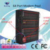 Command에 가장 새로운 GPRS 64 Ports SMS Modem Pool Support