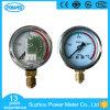 2  50 mm 밑바닥 연결 CNG 압력 계기