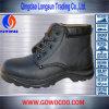 Il cuoio impresso di vendita calda Centrale-Ha tagliato i pattini di sicurezza/calzature (GWRU-3003)