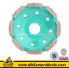 Абразивный диск чашки диаманта форменный