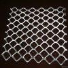 鉄BBQのグリルによって拡大される金属の網