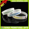 Progettare il braccialetto per il cliente del silicone con multicolore riempito (TH-band061)