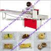 China-horizontale Verpackungs-Nahrungsmittelsofortige Nudel-Kuchen-Fluss-Verpackungsmaschine