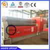 Placa do cilindro de quatro hidráulico dobrar e máquina de laminação W12S-25X3000