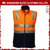 Veste reflexiva alaranjada feita sob encomenda por atacado da segurança do Workwear de China (ELTHVVI-2)