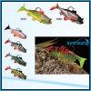 attrait doux de pêche d'attrait de fil populaire de 6cm/8cm/10cm