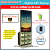 LCD 디지털 Signage 전자 로커 Mfi 케이블 이동할 수 있는 충전소를 광고하는 42