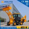 中国の構築機械販売のための小さいローダーのバックホウ