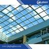 vetro float curvo piegato 6-12mm di vetro Tempered per costruzione