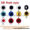 Yeux de poissons en plastique d'attrait de pêche de première couleur multi de catégorie