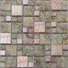 Het elegante Mozaïek van het Metaal van de Mengeling van het Kristal van het Patroon van de Bloem van de Stijl (CFM928)