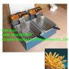 Machine électrique de friteuse de pommes chips/profondément machine de friteuse