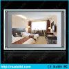 Rectángulo ligero cristalino de la visualización A4 LED de la ventana
