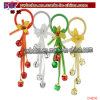 O partido Ornaments o partido Keychain de Keychain da forma de Yiwu China (CH8110)