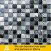 Mosaico del metallo nel nero e nel colore dell'argento