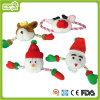 Het Stuk speelgoed van Plush&Stuffed van Kerstmis van de Hond van het huisdier