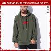 Fornitore di vestiti su ordinazione di Hoodies del pullover del cotone degli uomini (ELTHSJ-1163)