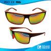 Óculos de sol falsificados do esporte do espelho de Del março da costela de Oculos