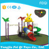 Série-Lapin animal du jouet du gosse extérieur de cour de jeu d'enfants de plastique neufs (FQ-YQ-00502)