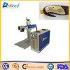 Машина маркировки логоса лазера волокна Китая 10W для металла