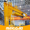 Première qualité de la Chine grue de potence fixée au sol de 10 tonnes avec le pilier et l'élévateur de Srtong