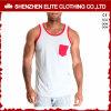 Wholesale Cheap OEM Service hecho personalizado 100 Camiseta de tirantes de algodón (ELTMBJ-259)