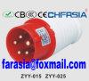 5p 6h IP44 16A Cee/IEC PP/PA ökonomischer industrieller Stecker
