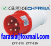 5p 6h IP44 16A Cee / IEC PP / PA Económica Plug Industrial