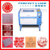 40W Laser CO2 Engraving and Cutting Machine for PVC Leather