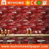 2016 Precio al por mayor papel de la pared de ladrillos rojos 3D nuevo