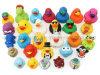 El logotipo del fabricante de pato de baño de goma plástica diversos juguetes para promoción