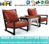 Стул гостиницы шикарной домашней кожи мебели деревянный (HC016)