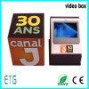 contenitore di schermo dell'affissione a cristalli liquidi di 5 '' HD video per la pubblicità dell'uso