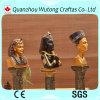 Figurine egípcio antigo do Pharaoh da resina Home Handmade quente da decoração da venda
