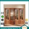 Puerta de Bifolding de los 4 paneles/puerta de acordión para el uso interior del sitio