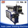 Máquina de soldadura 200W do laser da linha central da alta velocidade quatro auto