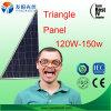 Panneau solaire 120W 150W de triangle anormale de forme