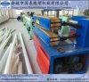 Ligne simple d'extrusion de pipe de PVC de HDPE de vis