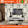 Papier peint décoratif de salle de séjour de fond de TV