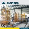 A linha de produção do tijolo Qft10-15 com operação Fully-Automatic, fácil, reduz o custo de mão-de-obra