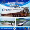 三車軸45meters平面風の刃のトレーラー、販売のための拡張可能で低いベッドのトレーラー