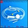 Beschikbare die Infusie met Plaats van de Injectie van de Naald de Vrije/de Nauwkeurige Naald van de Vlinder van de veiligheid van de Filter van de Regelgever van de Stroom wordt geplaatst