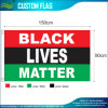 Pan African Red Black Green Flag 3X5FT (A-NF01F09034)