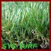 Het natuurlijke Zachte Kunstmatige Gras van het Gevoel voor Tuin Backyarn