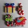 Imán al por mayor del refrigerador de la Navidad para el regalo de Navidad