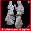 Van Jesus-Christus het Marmeren van het Standbeeld Divine Mercy Marble Beeldhouwwerk van Jesus Heart