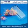 Caja plástica del chocolate del rectángulo caliente de la venta